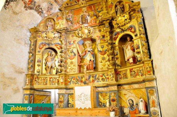 Església de Santa Eulàlia a Unha - Retaule barroc