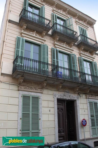 Casa girbau sant feliu de gu xols pobles de catalunya - Casas sant feliu de guixols ...