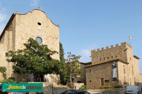 astell d´Aro - Església i castell