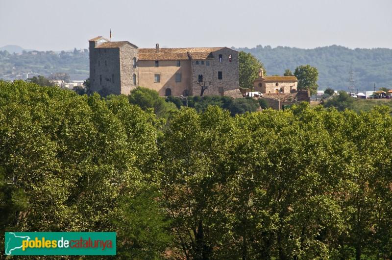 La façana del castell