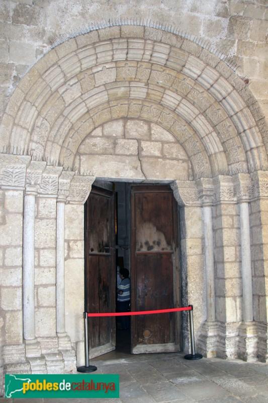 Sant Cugat del Vallès - Porta del claustre