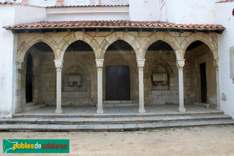 S'Agaró - Nostra Senyora de l´Esperança, arcades de Sant Francesc