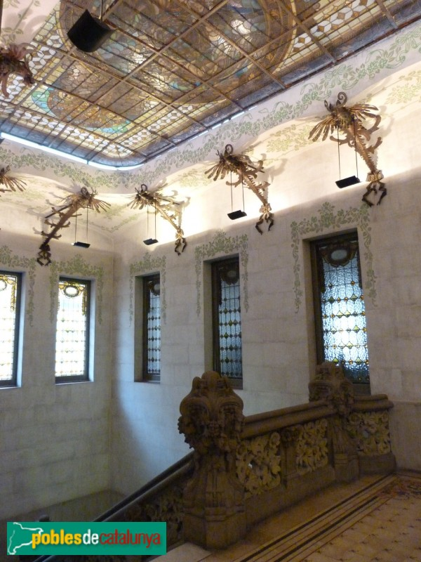 Barcelona - Antiga Tinença d'Alcaldia d'Hostafrancs