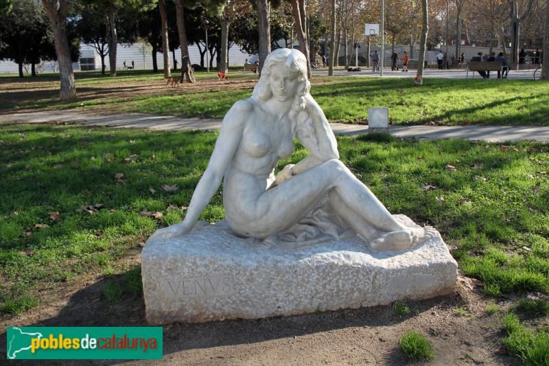 Barcelona - Parc de l'Espanya Industrial, la Venus Moderna