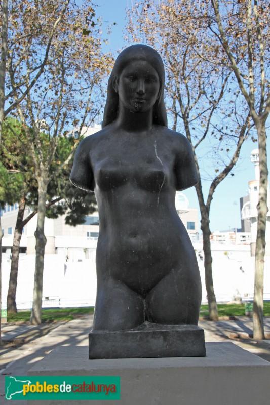 Barcelona - Parc de l'Espanya Industrial, Tors de Dona