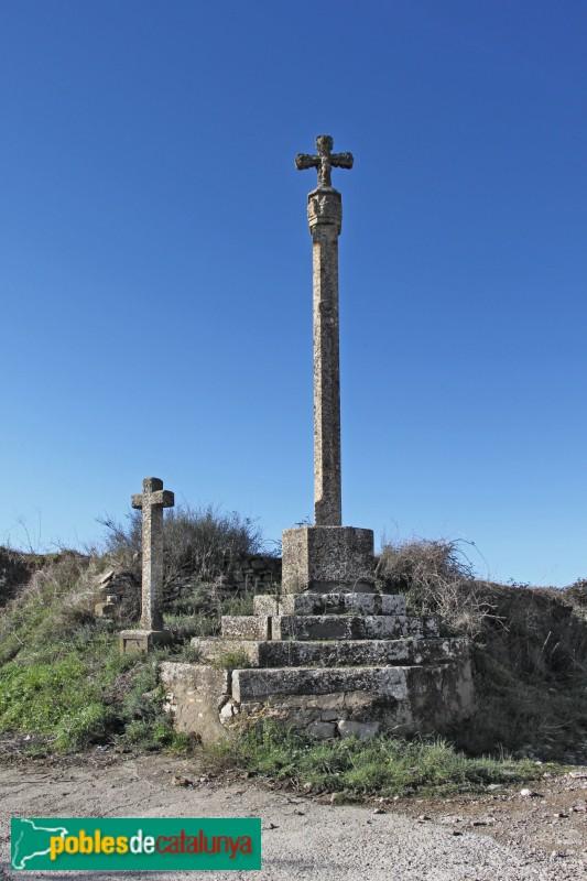 Sant Ramon - Creus de terme de la Manresana