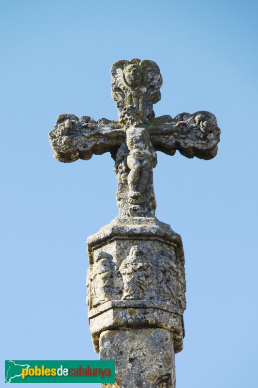 Sant Ramon - Creu de terme de la Manresana