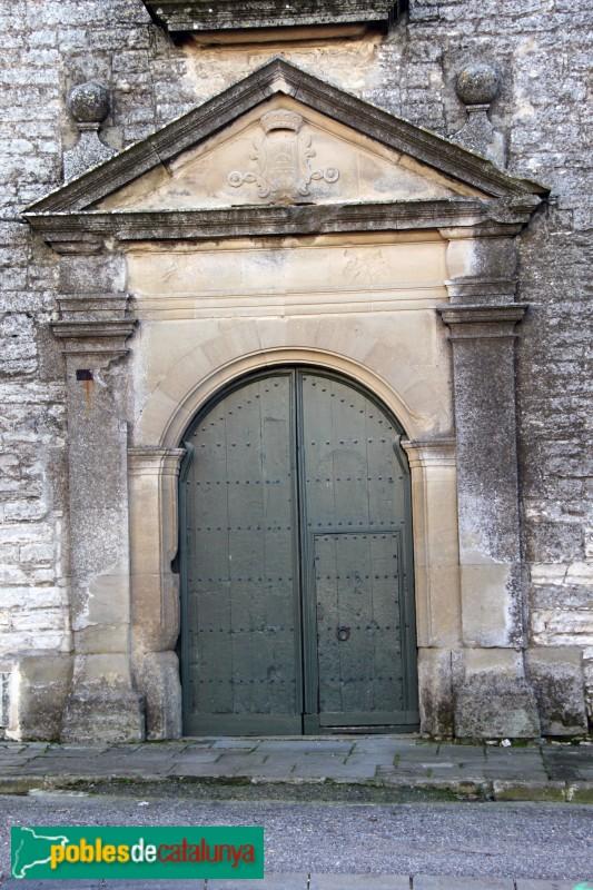 Sant Ramon - Santuari de Sant Ramon Nonat, porta del claustre
