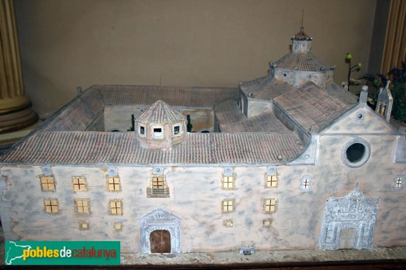 Sant Ramon - Santuari de Sant Ramon Nonat, maqueta