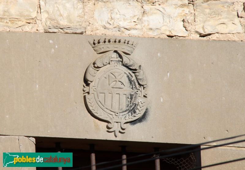 Sant Ramon - Santuari de Sant Ramon Nonat, escut de l'orde de la Mercè