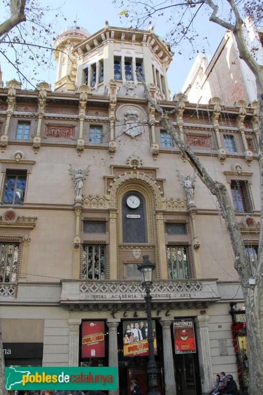 Barcelona - Reial Acadèmia de les Ciències i les Arts