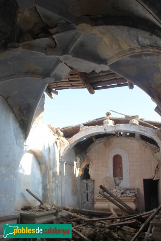 Plans de Sió - Capella del cementiri d'Hostafrancs