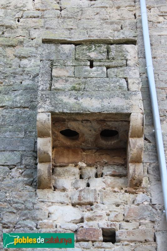 Concabella - Castell, latrina