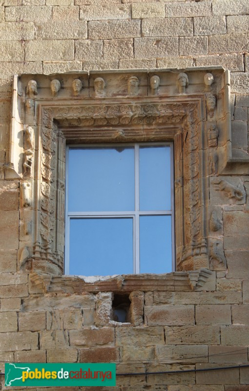 Concabella - Castell, finestral renaixentista