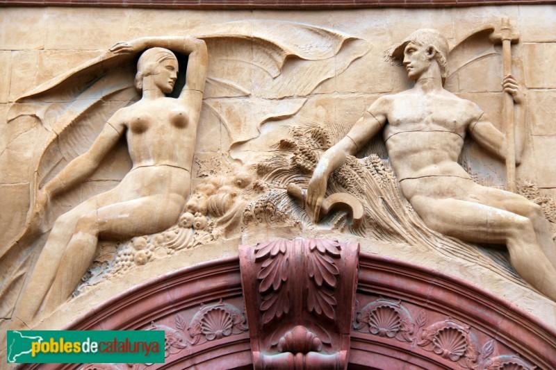 Barcelona - Palau de l'Agricultura (Teatre Lliure)
