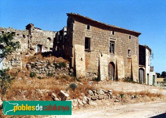 Plans de Sió - Casa Montcortès, fa uns anys