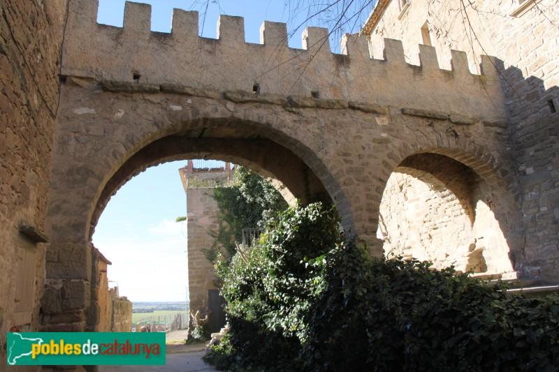 Plans de Sió - Fortificacions de l'Aranyó