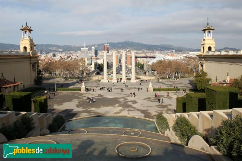 Barcelona - Palaus Alfons XIII i Victòria Eugènia