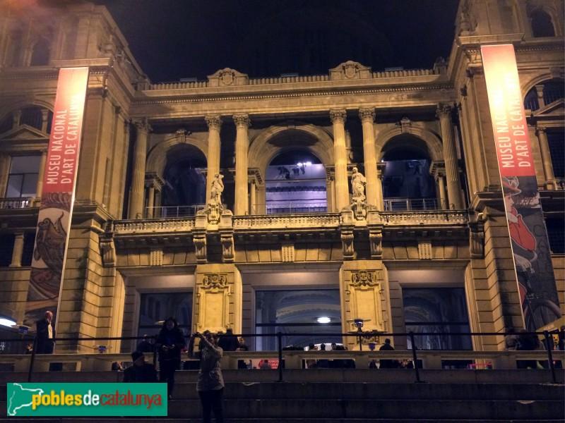 Barcelona - Palau Nacional, de nit