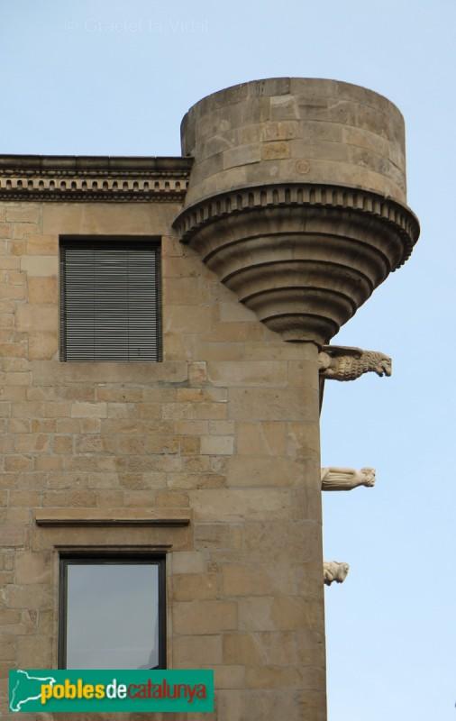 Barcelona - Palau del Lloctinent, detall