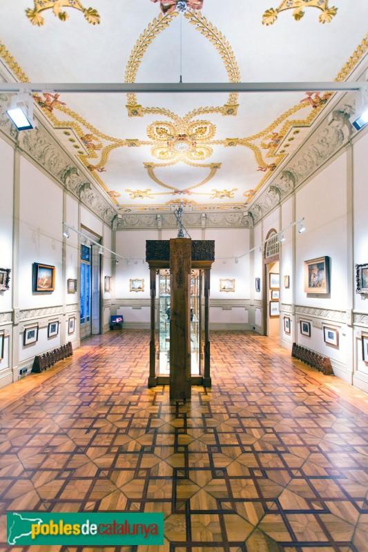 Barcelona - Palau Mornau, interior