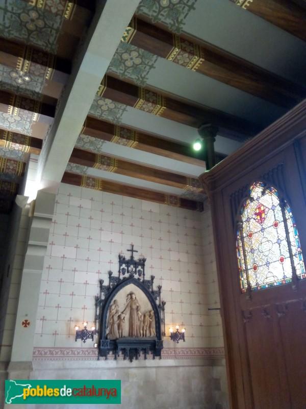 Barcelona - Església de Pompeia, interior