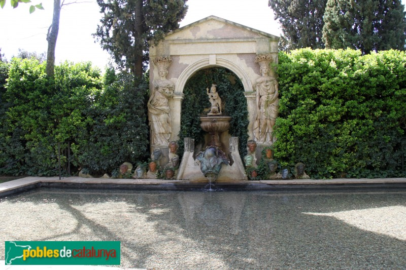 La Pera - Castell de Púbol, jardí
