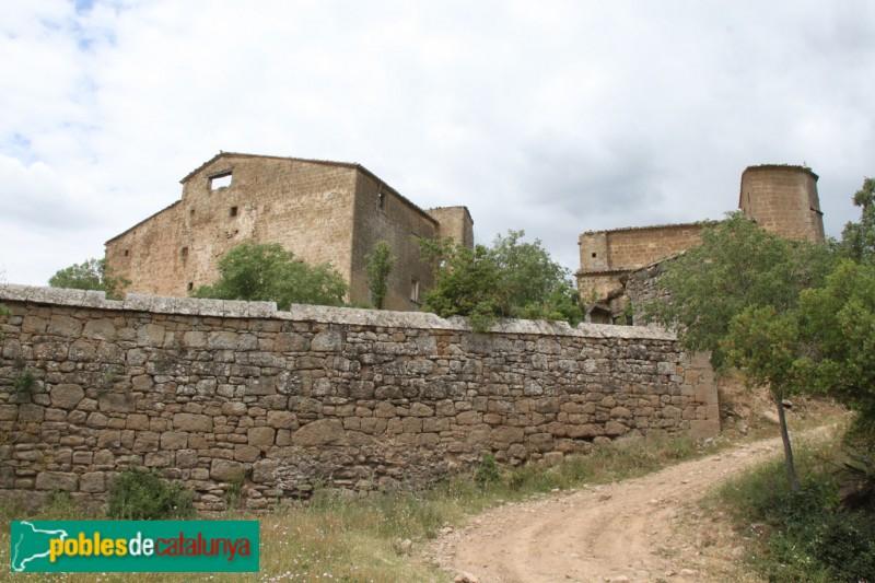 Torà - Castell i església de Llanera