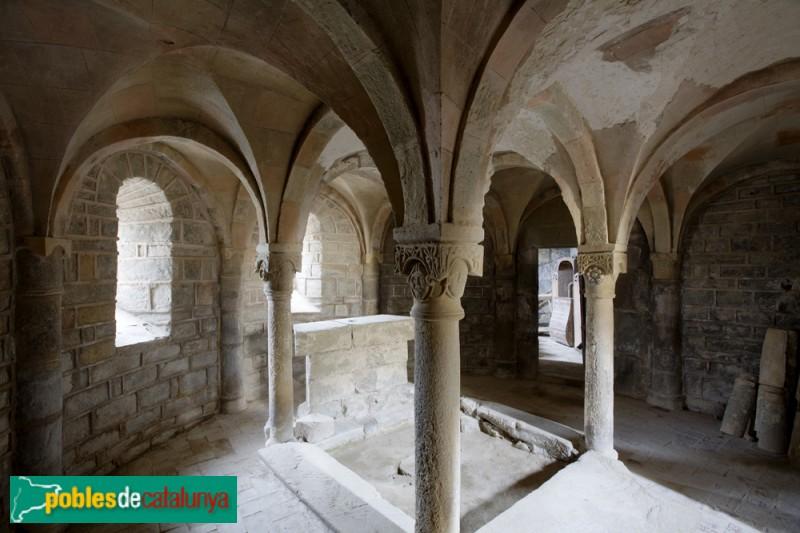 Torà - Monestir de Cellers: cripta