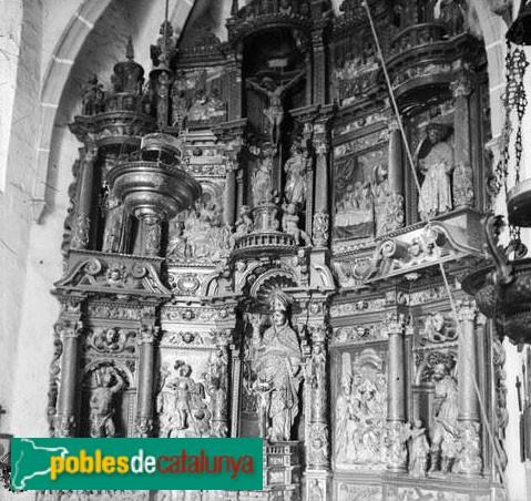 Torà - Retaule de Sant Martí de Llanera