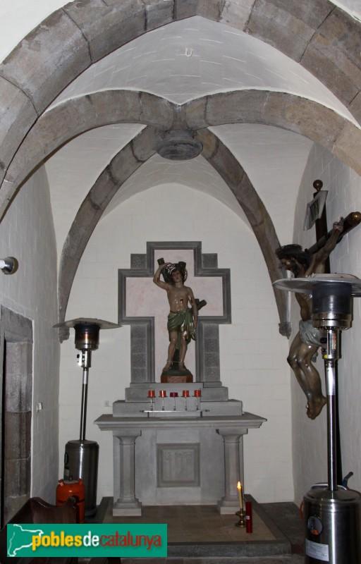 Parlavà - Església de Sant Feliu, capella lateral