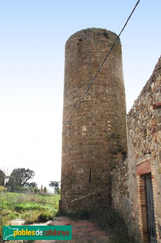 Serra de Daró - Castell de Sant Iscle