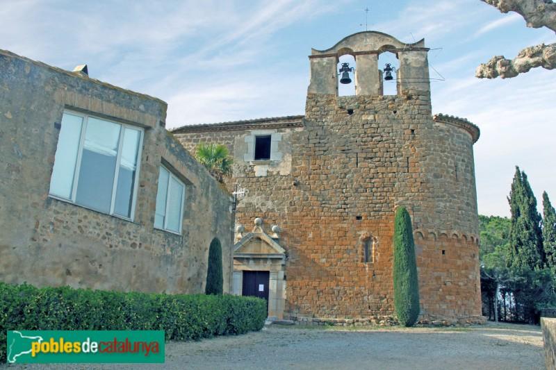 Serra de Daró- Església de Sant Iscle