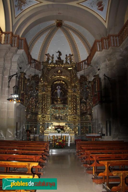 Guissona - Església de Santa Maria, capella de la M.D. del Claustre