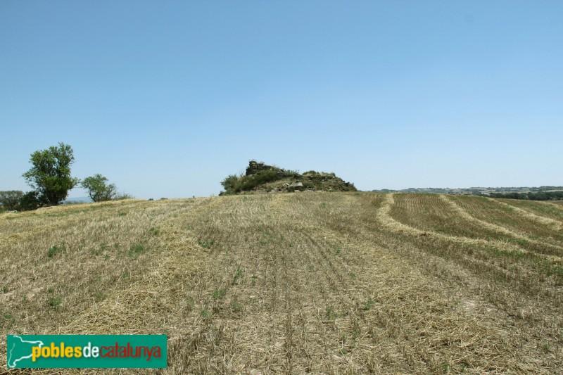 Guissona - Ruïnes del castell de Rubiol