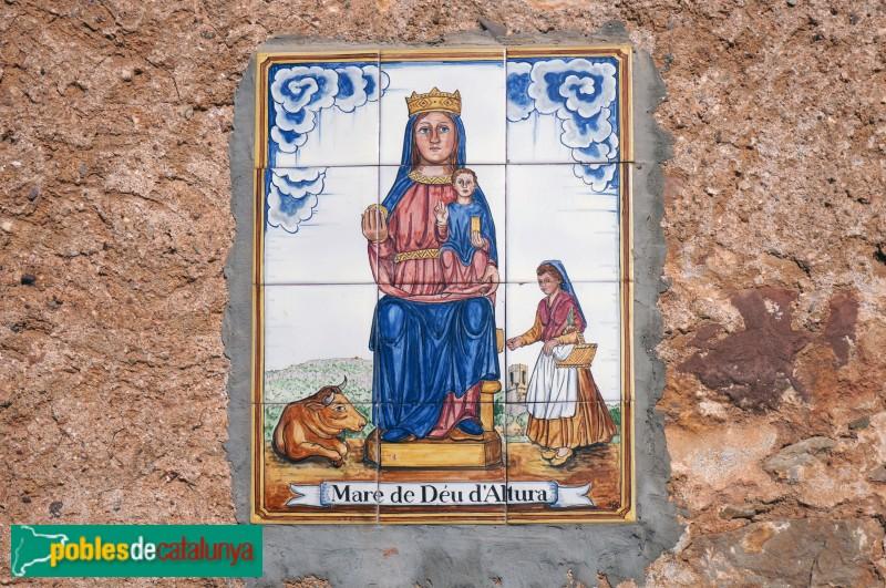 Sant Julià d'Altura, detall