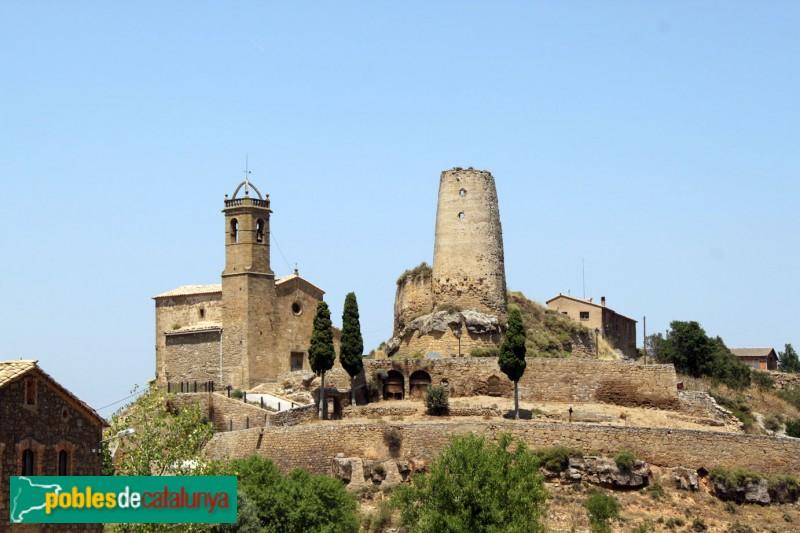 Biosca - Castell i església de Lloberola