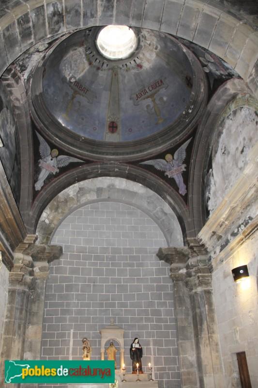 Sanaüja - Santa Maria de la Plaça, capella lateral