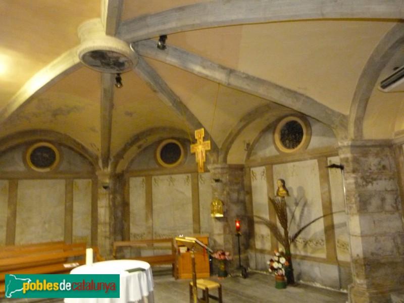 Calaf - Cripta de l'església de Sant Jaume