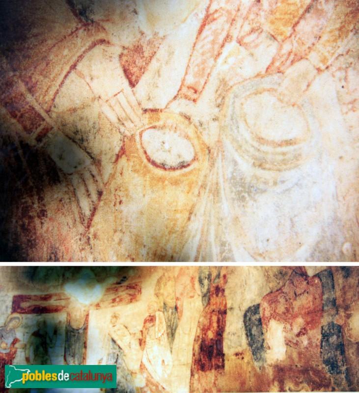 La Tallada - Sant Esteve de Maranyà, pintures romàniques