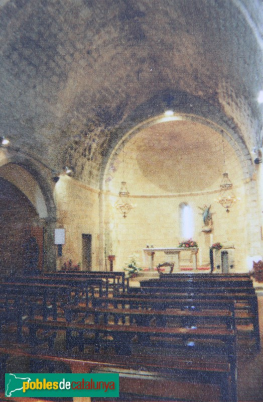 La Tallada - Església de Santa Maria, interior