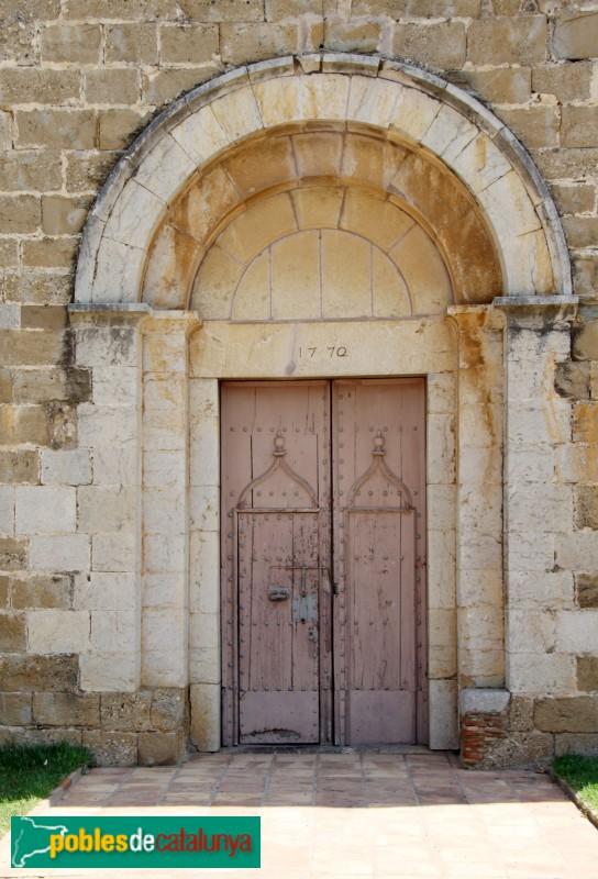 La Tallada - Església de Santa Maria, portada
