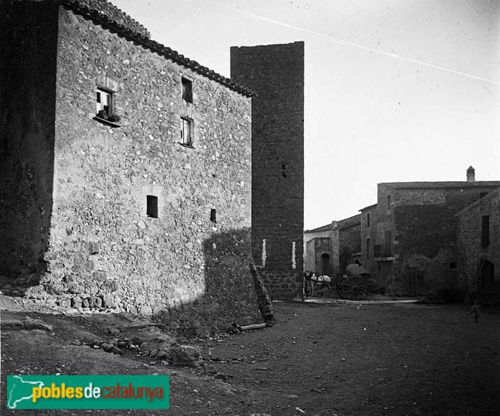 La Tallada - Recinte fortificat, 1923