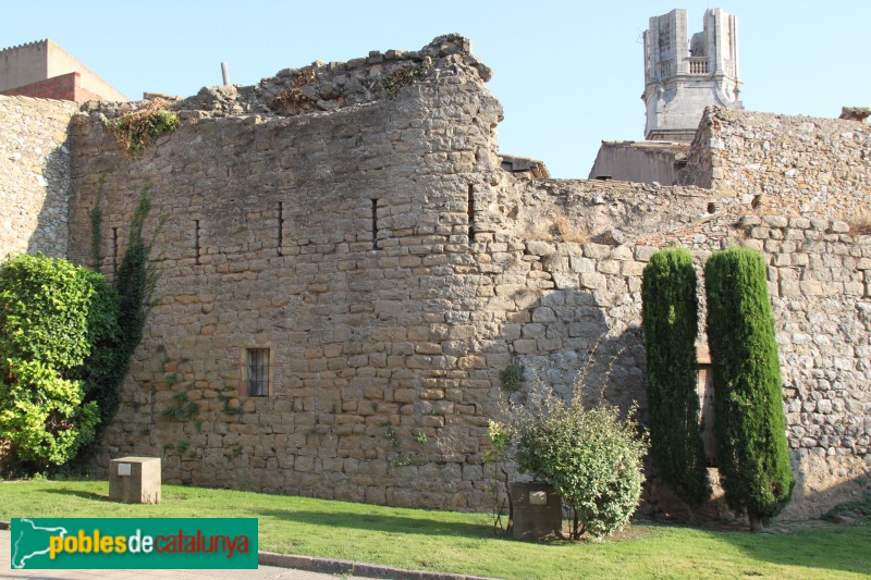 Torroella de Montgrí - Muralla