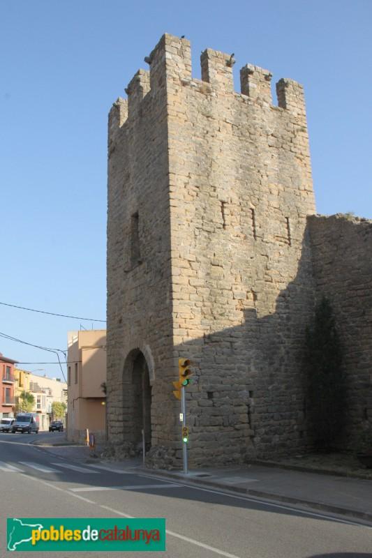 Torroella de Montgrí - Torre de Santa Caterina i muralla
