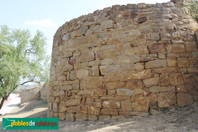 Ullastret - Poblat ibèric, torre defensiva