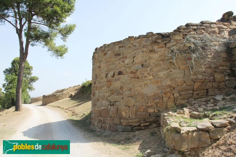 Ullastret - Poblat ibèric, muralla