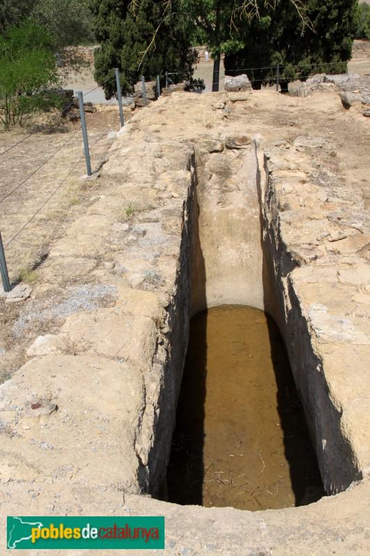Ullastret - Poblat Ibèric, cisterna