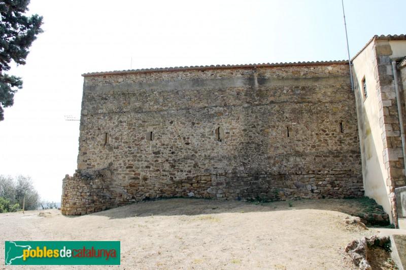 Ullastret - Mur del castell de Sant Andreu