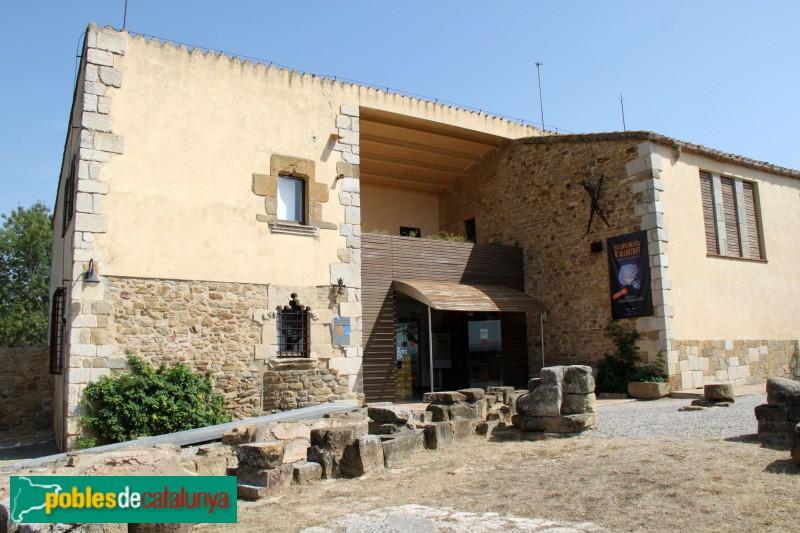 Ullastret - Mas de Sant Andreu, actual Museu